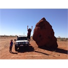 Plenty Highway termite mound