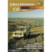 1:500K Meridian Maps of Sydney on CD