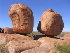 Devils Marbles near Tennant Creek