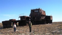 Aral Sea High and Dry