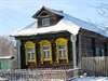 Typical Older Style Russian Log Home