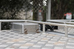 New roof mounted junction box