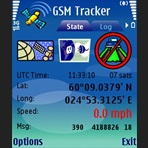 GSM Tracker screen shot