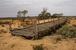 This old bridge was never used - Riverland SA