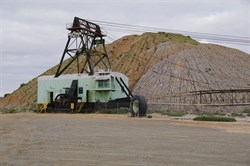The Bucyrus Erie Walking Dragline