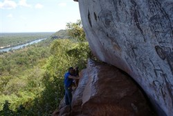 On the Escarpment above the Drysdale - The Kimberley