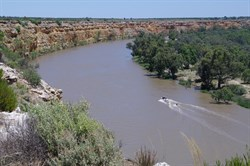 Big Bend on the Murray River