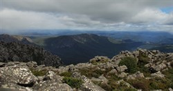 vies from the summit on Mt Roland