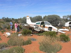 Aircraft Crash Site off Anne Beadell Highway