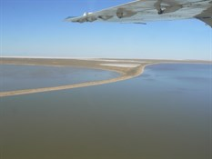 Lake Eyre Flight.