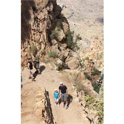 Chardae and David South Kaibab trail