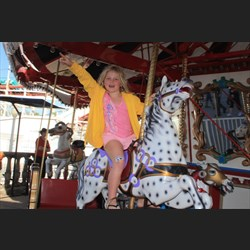Chardae on the Carousel