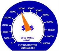 Flying Doctor Donation Meter