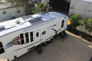 Solar install on Wildcat Five Wheeler