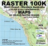 100k West Coast WA Digital Map USB