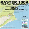 100k South Coast WA Digital Map DVD