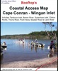 Cape Conran - Wingan Inlet Coastal Access Map