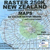 Raster 250k New Zealand - DVD