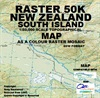 Raster 50k New Zealand South Island - DVD