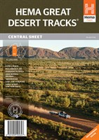 Great Desert Tracks Central Sheet