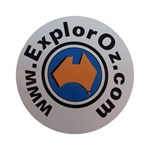 ExplorOz Bumper Sticker - Large
