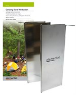 Camping Stove Windscreen