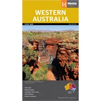 Western Australia State Map
