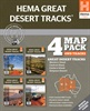Great Desert Tracks of Australia Map Pack