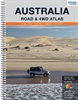 Australia Road and 4WD Atlas - Spiral Bound 9th Ed