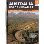 Australia Road & 4WD Atlas - Spiral Bound