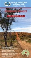 Simpson Desert Trip Planning Map - Digital Map