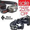 Black Diamond Headlamps 25% Off