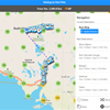 Building a route in the ExplorOz Traveller app