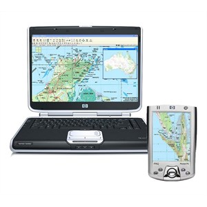 GPS for Laptops and PDAs