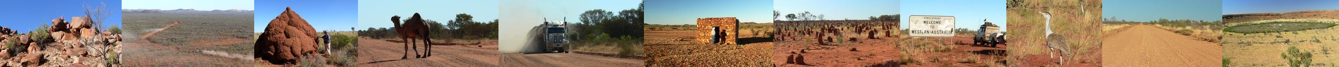 Scenes of the Tanami Track - By: Member - John and Val