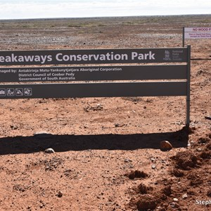 Kanku-Breakaways Conservation Park Boundary - SA