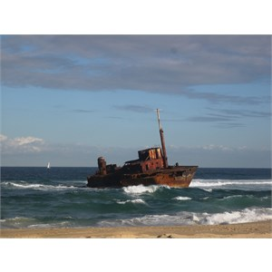 Wreck of the MV Sygna
