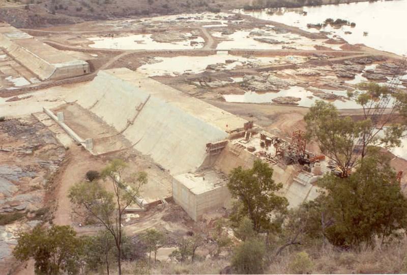 Burdekin Dam Queensland Burdekin Falls Dam Caravan