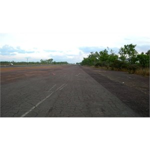 World War II Airstrip Strauss