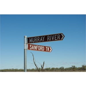 Murray River Access Turn Off