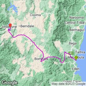 B&T trip Merimbula to Jindabyne