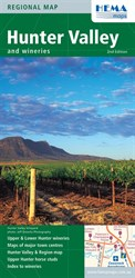 Hema Maps Outback & Regional, Hunter Valley and Wineries Map