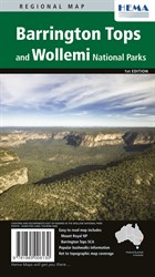 Hema Maps National Parks, Barrington Tops and Wollemi National Parks