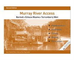 Spatial Vision Maps Outback & Regional, Murray River Access Map - Brown