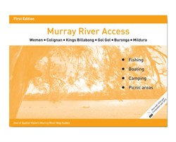 Spatial Vision Maps Outback & Regional, Murray River Access Map - Yellow