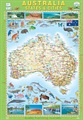Australia States and Cities Map Book