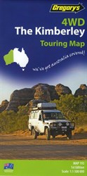 Gregorys Maps Outback & Regional, 4WD The Kimberley
