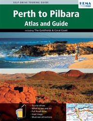 Hema Books Travel Guides, Perth to Pilbara Atlas & Guide