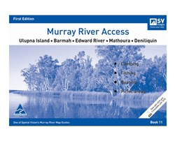 Spatial Vision Maps Outback & Regional, Murray River Access Map - Violet