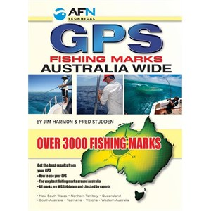 GPS Fishing Marks Australia Wide